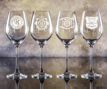 Engraved Crystal Glassware